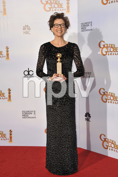 """The Golden Globe Awards - 68th Annual"" (Press Room)Annette Bening1-16-2011 © 2011 Jean Cummings - Image 24010_0336"