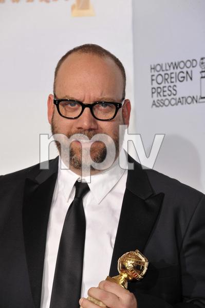 """The Golden Globe Awards - 68th Annual"" (Press Room)Paul Giamatti1-16-2011 © 2011 Jean Cummings - Image 24010_0382"
