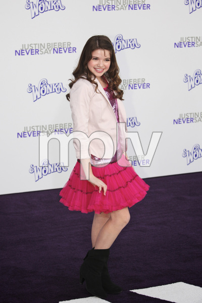 """""""Justin Bieber: Never Say Never"""" Premiere Jadin Gould 2-8-2011 / Nokia Theater L.A. Live / Paramount Pictures / Los Angeles CA / Photo by Imeh Akpanudosen - Image 24016_0020"""