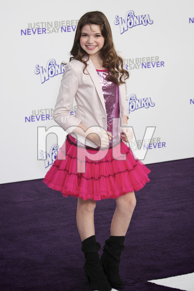 """Justin Bieber: Never Say Never"" Premiere Jadin Gould 2-8-2011 / Nokia Theater L.A. Live / Paramount Pictures / Los Angeles CA / Photo by Imeh Akpanudosen - Image 24016_0023"