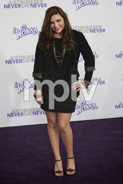 """Justin Bieber: Never Say Never"" Premiere Julianna Rose 2-8-2011 / Nokia Theater L.A. Live / Paramount Pictures / Los Angeles CA / Photo by Imeh Akpanudosen - Image 24016_0027"