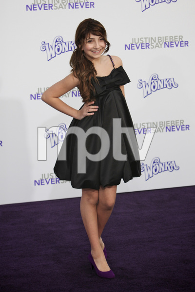"""""""Justin Bieber: Never Say Never"""" Premiere Jennessa Rose 2-8-2011 / Nokia Theater L.A. Live / Paramount Pictures / Los Angeles CA / Photo by Imeh Akpanudosen - Image 24016_0036"""