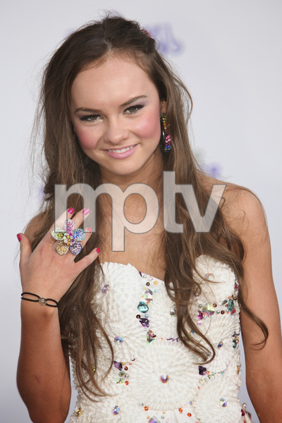 """""""Justin Bieber: Never Say Never"""" Premiere Madeline Carroll 2-8-2011 / Nokia Theater L.A. Live / Paramount Pictures / Los Angeles CA / Photo by Imeh Akpanudosen - Image 24016_0085"""