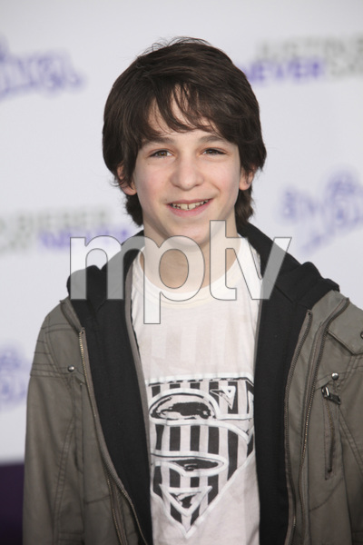 """""""Justin Bieber: Never Say Never"""" Premiere Zachary Gordon 2-8-2011 / Nokia Theater L.A. Live / Paramount Pictures / Los Angeles CA / Photo by Imeh Akpanudosen - Image 24016_0107"""
