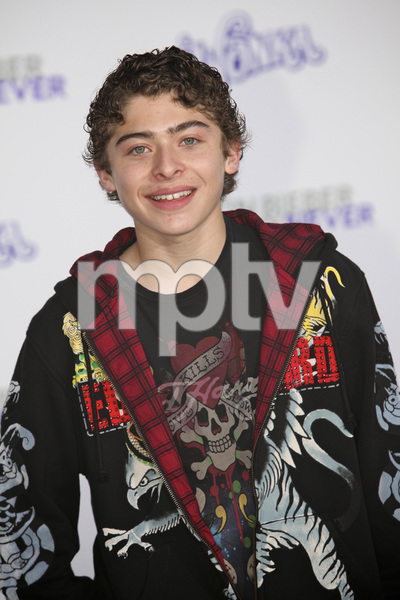"""""""Justin Bieber: Never Say Never"""" Premiere Ryan Ochoa 2-8-2011 / Nokia Theater L.A. Live / Paramount Pictures / Los Angeles CA / Photo by Imeh Akpanudosen - Image 24016_0111"""