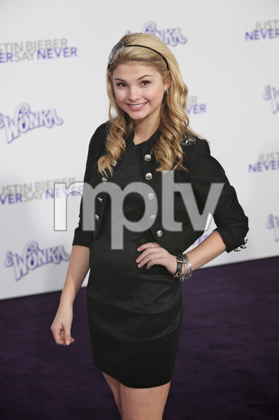 """""""Justin Bieber: Never Say Never"""" Premiere Stefanie Scott 2-8-2011 / Nokia Theater L.A. Live / Paramount Pictures / Los Angeles CA / Photo by Imeh Akpanudosen - Image 24016_0127"""