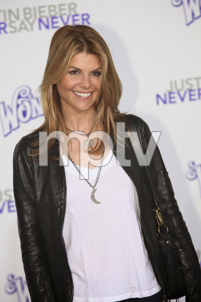 """""""Justin Bieber: Never Say Never"""" Premiere Lori Loughlin 2-8-2011 / Nokia Theater L.A. Live / Paramount Pictures / Los Angeles CA / Photo by Imeh Akpanudosen - Image 24016_0154"""