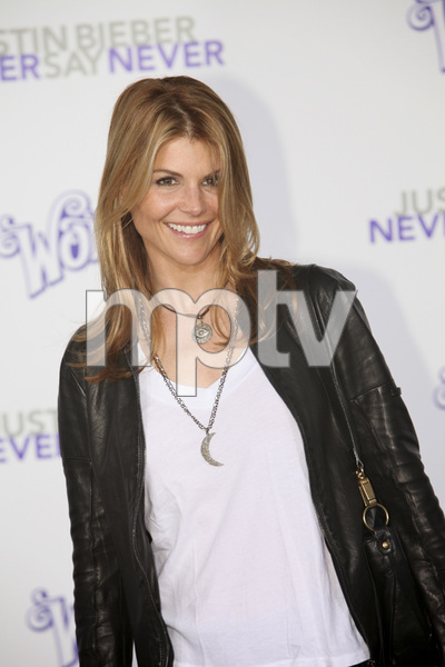 """""""Justin Bieber: Never Say Never"""" Premiere Lori Loughlin 2-8-2011 / Nokia Theater L.A. Live / Paramount Pictures / Los Angeles CA / Photo by Imeh Akpanudosen - Image 24016_0157"""