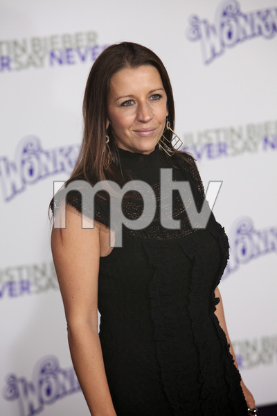 """""""Justin Bieber: Never Say Never"""" Premiere Pattie Mallette 2-8-2011 / Nokia Theater L.A. Live / Paramount Pictures / Los Angeles CA / Photo by Imeh Akpanudosen - Image 24016_0179"""