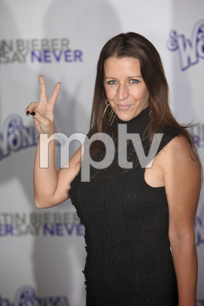 """""""Justin Bieber: Never Say Never"""" Premiere Pattie Mallette 2-8-2011 / Nokia Theater L.A. Live / Paramount Pictures / Los Angeles CA / Photo by Imeh Akpanudosen - Image 24016_0180"""