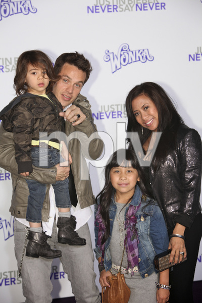 """""""Justin Bieber: Never Say Never"""" Premiere Kevin Alejandro 2-8-2011 / Nokia Theater L.A. Live / Paramount Pictures / Los Angeles CA / Photo by Imeh Akpanudosen - Image 24016_0216"""