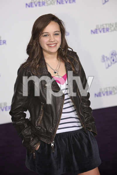 """""""Justin Bieber: Never Say Never"""" Premiere Mary Mouser 2-8-2011 / Nokia Theater L.A. Live / Paramount Pictures / Los Angeles CA / Photo by Imeh Akpanudosen - Image 24016_0235"""