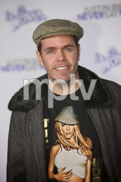 """""""Justin Bieber: Never Say Never"""" Premiere Perez Hilton 2-8-2011 / Nokia Theater L.A. Live / Paramount Pictures / Los Angeles CA / Photo by Imeh Akpanudosen - Image 24016_0263"""