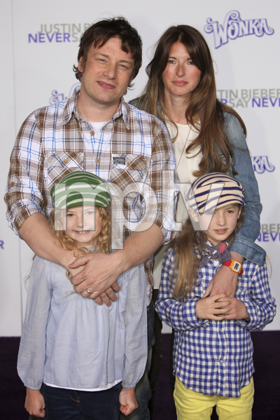 """""""Justin Bieber: Never Say Never"""" Premiere Jamie Oliver 2-8-2011 / Nokia Theater L.A. Live / Paramount Pictures / Los Angeles CA / Photo by Imeh Akpanudosen - Image 24016_0285"""