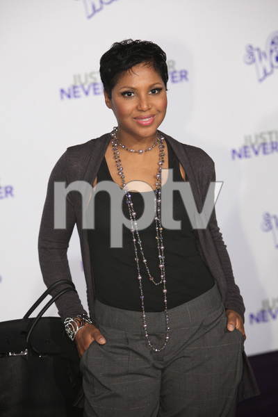 """""""Justin Bieber: Never Say Never"""" Premiere Toni Braxton 2-8-2011 / Nokia Theater L.A. Live / Paramount Pictures / Los Angeles CA / Photo by Imeh Akpanudosen - Image 24016_0357"""