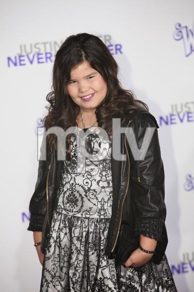 """Justin Bieber: Never Say Never"" Premiere Madison De La Garza 2-8-2011 / Nokia Theater L.A. Live / Paramount Pictures / Los Angeles CA / Photo by Imeh Akpanudosen - Image 24016_0362"