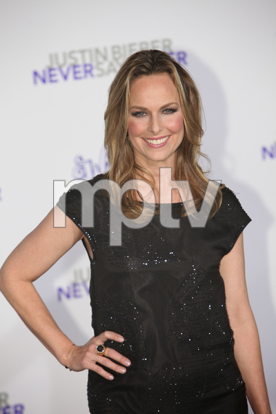 """""""Justin Bieber: Never Say Never"""" Premiere Melora Hardin 2-8-2011 / Nokia Theater L.A. Live / Paramount Pictures / Los Angeles CA / Photo by Imeh Akpanudosen - Image 24016_0368"""