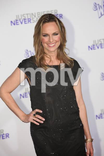 """""""Justin Bieber: Never Say Never"""" Premiere Melora Hardin 2-8-2011 / Nokia Theater L.A. Live / Paramount Pictures / Los Angeles CA / Photo by Imeh Akpanudosen - Image 24016_0370"""