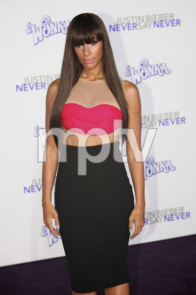 """""""Justin Bieber: Never Say Never"""" Premiere Leona Lewis 2-8-2011 / Nokia Theater L.A. Live / Paramount Pictures / Los Angeles CA / Photo by Imeh Akpanudosen - Image 24016_0377"""