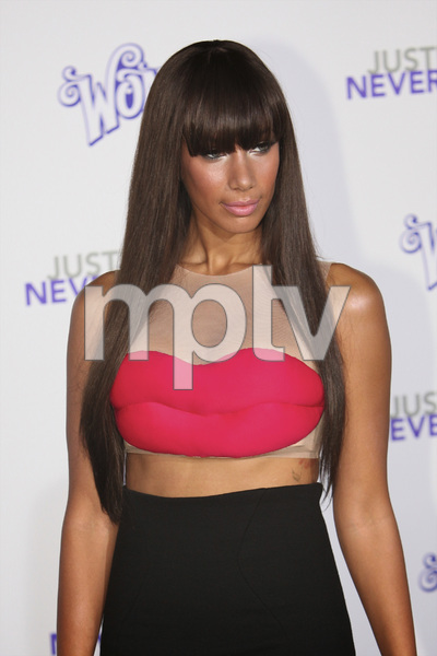 """""""Justin Bieber: Never Say Never"""" Premiere Leona Lewis 2-8-2011 / Nokia Theater L.A. Live / Paramount Pictures / Los Angeles CA / Photo by Imeh Akpanudosen - Image 24016_0378"""