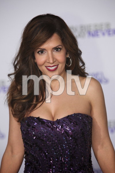 """Justin Bieber: Never Say Never"" Premiere Maria Canals-Barrera 2-8-2011 / Nokia Theater L.A. Live / Paramount Pictures / Los Angeles CA / Photo by Imeh Akpanudosen - Image 24016_0392"