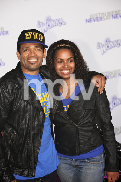 """""""Justin Bieber: Never Say Never"""" Premiere Mario Van Peebles 2-8-2011 / Nokia Theater L.A. Live / Paramount Pictures / Los Angeles CA / Photo by Imeh Akpanudosen - Image 24016_0416"""