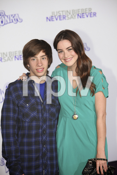 """""""Justin Bieber: Never Say Never"""" Premiere Jimmy Bennett 2-8-2011 / Nokia Theater L.A. Live / Paramount Pictures / Los Angeles CA / Photo by Imeh Akpanudosen - Image 24016_0426"""