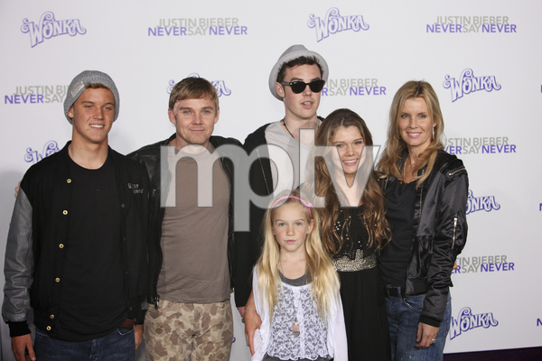 """""""Justin Bieber: Never Say Never"""" Premiere Rick Schroder 2-8-2011 / Nokia Theater L.A. Live / Paramount Pictures / Los Angeles CA / Photo by Imeh Akpanudosen - Image 24016_0464"""
