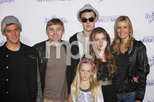 """""""Justin Bieber: Never Say Never"""" Premiere Rick Schroder 2-8-2011 / Nokia Theater L.A. Live / Paramount Pictures / Los Angeles CA / Photo by Imeh Akpanudosen - Image 24016_0466"""