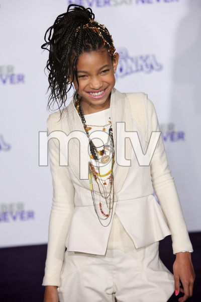"""""""Justin Bieber: Never Say Never"""" Premiere Willow Smith 2-8-2011 / Nokia Theater L.A. Live / Paramount Pictures / Los Angeles CA / Photo by Imeh Akpanudosen - Image 24016_0489"""
