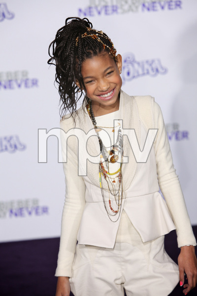 """""""Justin Bieber: Never Say Never"""" Premiere Willow Smith 2-8-2011 / Nokia Theater L.A. Live / Paramount Pictures / Los Angeles CA / Photo by Imeh Akpanudosen - Image 24016_0490"""