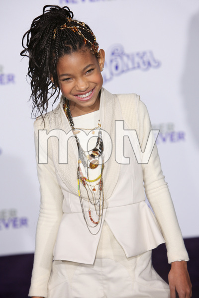 """""""Justin Bieber: Never Say Never"""" Premiere Willow Smith 2-8-2011 / Nokia Theater L.A. Live / Paramount Pictures / Los Angeles CA / Photo by Imeh Akpanudosen - Image 24016_0491"""