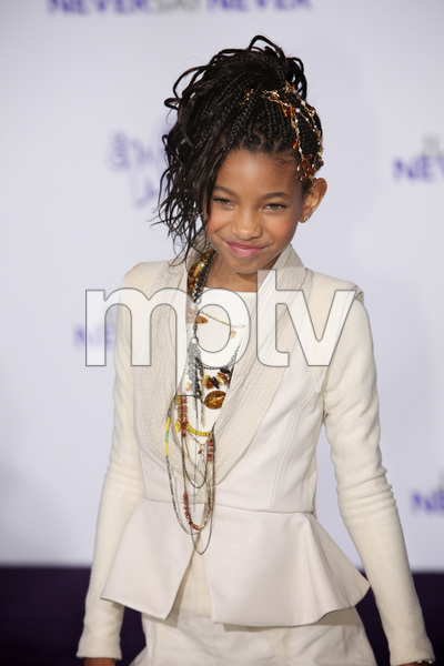 """""""Justin Bieber: Never Say Never"""" Premiere Willow Smith 2-8-2011 / Nokia Theater L.A. Live / Paramount Pictures / Los Angeles CA / Photo by Imeh Akpanudosen - Image 24016_0497"""