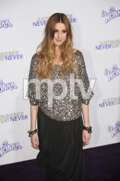 """""""Justin Bieber: Never Say Never"""" Premiere Whitney Port 2-8-2011 / Nokia Theater L.A. Live / Paramount Pictures / Los Angeles CA / Photo by Imeh Akpanudosen - Image 24016_0505"""