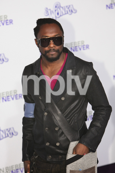 """""""Justin Bieber: Never Say Never"""" Premiere Will i Am 2-8-2011 / Nokia Theater L.A. Live / Paramount Pictures / Los Angeles CA / Photo by Imeh Akpanudosen - Image 24016_0512"""