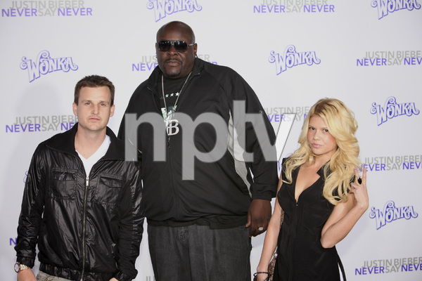 """""""Justin Bieber: Never Say Never"""" Premiere Rob Dyrdek, Christopher Boykin 2-8-2011 / Nokia Theater L.A. Live / Paramount Pictures / Los Angeles CA / Photo by Imeh Akpanudosen - Image 24016_0538"""