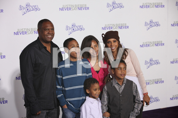 """Justin Bieber: Never Say Never"" Premiere Rodney Peete, Holly Robinson Peete 2-8-2011 / Nokia Theater L.A. Live / Paramount Pictures / Los Angeles CA / Photo by Imeh Akpanudosen - Image 24016_0550"
