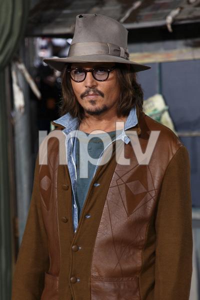 """Rango"" Premiere Johnny Depp 2-14-2011 / Paramount Studios / Village Theater / Los Angeles CA / Photo by Imeh Akpanudosen - Image 24022_0175"