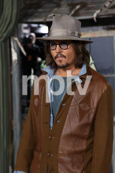 """Rango"" Premiere Johnny Depp 2-14-2011 / Paramount Studios / Village Theater / Los Angeles CA / Photo by Imeh Akpanudosen - Image 24022_0178"