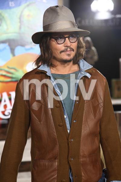 """Rango"" Premiere Johnny Depp 2-14-2011 / Paramount Studios / Village Theater / Los Angeles CA / Photo by Imeh Akpanudosen - Image 24022_0186"