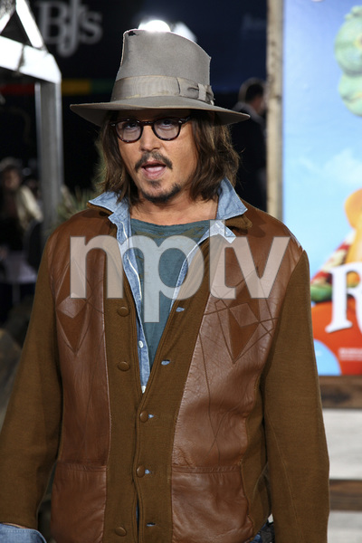 """Rango"" Premiere Johnny Depp 2-14-2011 / Paramount Studios / Village Theater / Los Angeles CA / Photo by Imeh Akpanudosen - Image 24022_0192"