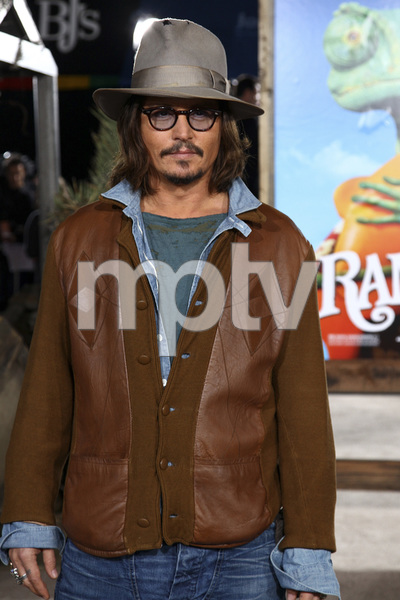 """Rango"" Premiere Johnny Depp 2-14-2011 / Paramount Studios / Village Theater / Los Angeles CA / Photo by Imeh Akpanudosen - Image 24022_0216"
