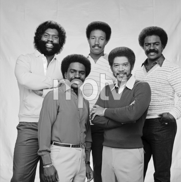 """The Whispers""Wallace ""Scotty"" Scott, Walter Scott, Marcus Hutson, Nicholas Caldwell, Leaveil Degree1982 © 1982 Bobby Holland - Image 24024_0003"