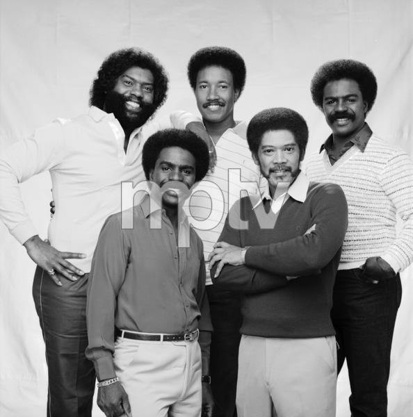 """The Whispers""Wallace ""Scotty"" Scott, Walter Scott, Marcus Hutson, Nicholas Caldwell, Leaveil Degree1982 © 1982 Bobby Holland - Image 24024_0007"