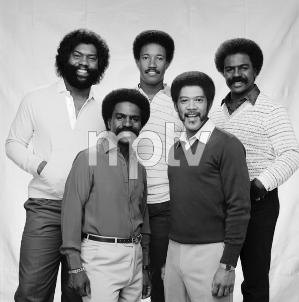 """The Whispers""Wallace ""Scotty"" Scott, Walter Scott, Marcus Hutson, Nicholas Caldwell, Leaveil Degree1982 © 1982 Bobby Holland - Image 24024_0008"