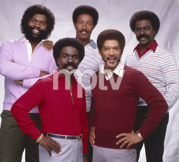 """The Whispers""Wallace ""Scotty"" Scott, Walter Scott, Marcus Hutson, Nicholas Caldwell, Leaveil Degree1982 © 1982 Bobby Holland - Image 24024_0009"