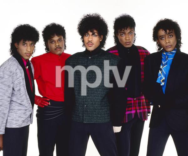 """The Deele""Darnell ""Dee"" Bristol, Kenny ""Babyface"" Edmonds, Carlos ""Satin"" Greene, Antonio ""L.A."" Reid, Kevin ""Kayo"" Roberson 1985 © 1985 Bobby Holland - Image 24025_0005"