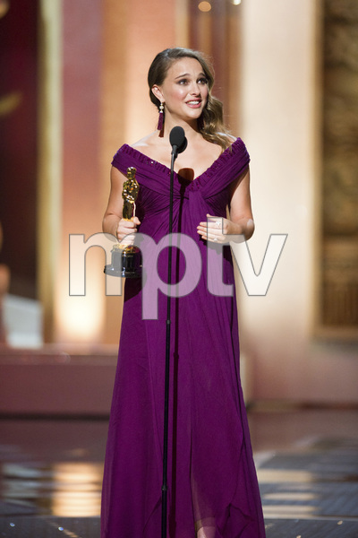 """""""The Academy Awards - 83rd Annual"""" (Telecast) Natalie Portman02-27-2011 Photo by Michael Yada © 2011 A.M.P.A.S. - Image 24036_0397"""