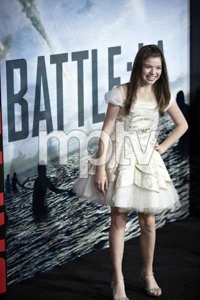 """Battle: Los Angeles"" Premiere  Jadin Gould, , Joey King3-8-2011 / Columbia Pictures / Regency Village Theater / Westwood CA / Photo by Benny Haddad - Image 24037_0059"