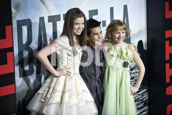 """""""Battle: Los Angeles"""" Premiere  Jadin Gould, Bryce Cass, Joey King3-8-2011 / Columbia Pictures / Regency Village Theater / Westwood CA / Photo by Benny Haddad - Image 24037_0061"""